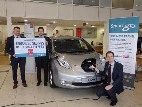 Major discounts on Nissan LEAF electric vehicles for Smartgo members ...
